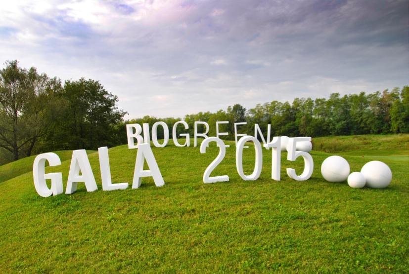 L'evento Bio Green Gala 2015