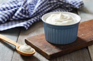 Fermenti vivi nello yogurt