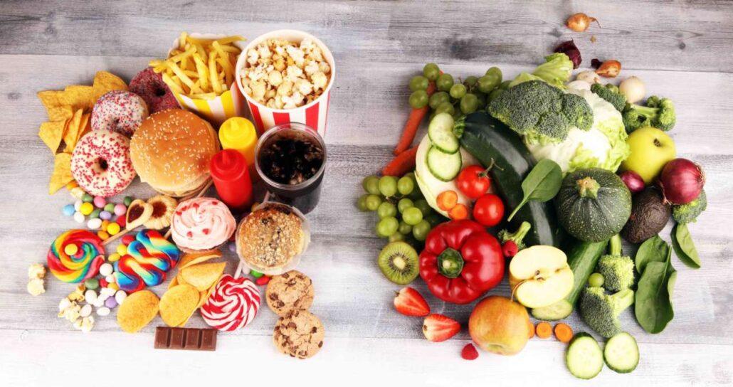 Food and life no more junk food!
